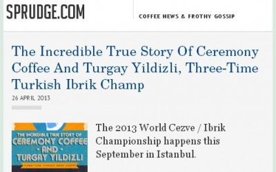 The Incredible True Story Of Ceremony Coffee And Turgay Yildizli, Three-Time Turkish Ibrik Champion
